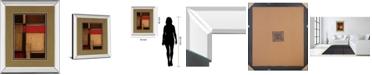 "Classy Art Gateways II by Patrick St. Germain Mirror Framed Print Wall Art, 34"" x 40"""