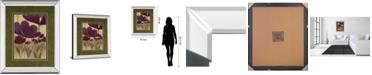 "Classy Art Summer Bloom II by Maria Mirror Framed Print Wall Art, 34"" x 40"""