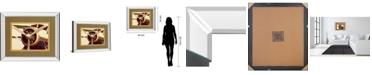 "Classy Art Short Trip II by Kathy Mansfield Mirror Framed Print Wall Art, 34"" x 40"""