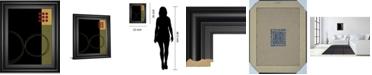 """Classy Art Circular Zone II by Fernando Leal Framed Print Wall Art, 22"""" x 26"""""""