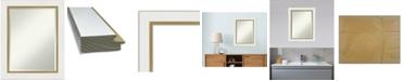 "Amanti Art Eva Gold-tone Framed Bathroom Vanity Wall Mirror, 23.25"" x 29.25"""