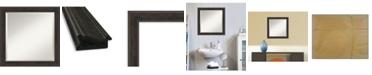 """Amanti Art Shipwreck Framed Bathroom Vanity Wall Mirror, 24"""" x 24"""""""