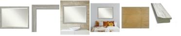 "Amanti Art Dove Framed Bathroom Vanity Wall Mirror, 43.5"" x 33.50"""