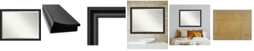 "Amanti Art Grand Framed Bathroom Vanity Wall Mirror, 43.88"" x 33.88"""