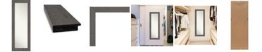 "Amanti Art Rustic Plank on The Door Full Length Mirror, 19.38"" x 53.38"""