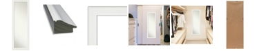 "Amanti Art Vanity on The Door Full Length Mirror, 17.38"" x 51.38"""