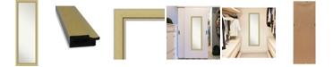 "Amanti Art Landon Gold-tone on The Door Full Length Mirror, 17.38"" x 51.38"""