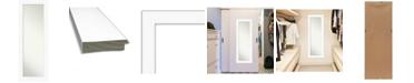 "Amanti Art Cabinet on The Door Full Length Mirror, 19.38"" x 53.38"""