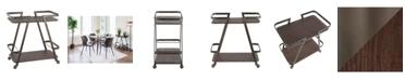 Lumisource Seven Bar Cart, Quick Ship