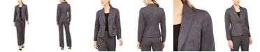 Le Suit Striped Pantsuit