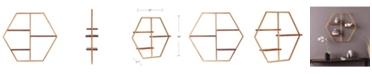 Southern Enterprises Briggs Hexagon Decorative Wall Shelf