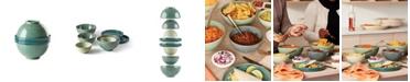 Lenox Luna Nesting Green 8 Piece Dinnerware Set
