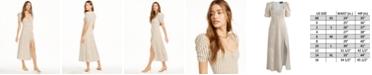 Danielle Bernstein Striped Maxi Slip Dress, Created for Macy's