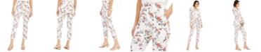 INC International Concepts INC Floral Slim Ankle Pants, Created for Macy's
