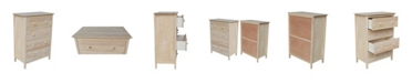International Concepts Chest with 4 Drawers