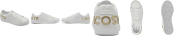 Lacoste Women's Carnaby Met Brand Casual Sneakers from Finish Line