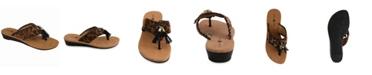 Lindsay Phillips Margo Wedge Thong Sandal