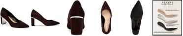 Alfani Women's Step N Flex Jensonn Block-Heel Pumps, Created for Macy's