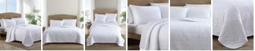Tommy Bahama Home Tommy Bahama Solid Costa Sera Full-Queen Quilt