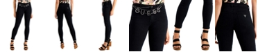 GUESS Sexy Curve Embellished Skinny Jeans