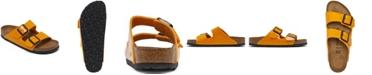 Birkenstock Women's Arizona Birko-Flor Patent Soft Footbed Sandals from Finish Line