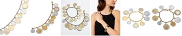 Macy's Vermeil Bracelet, Lira Coins Charm Bracelet