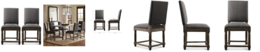 Madison Park Coryn Set of 2 Dining Chairs, Quick Ship