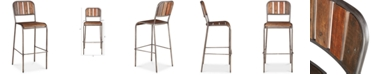 Furniture Reese Bar Stool with Backrest