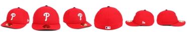 New Era Philadelphia Phillies Low Profile AC Performance 59FIFTY Cap