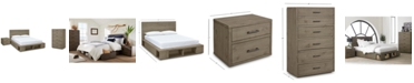 Furniture Brandon Storage Platform Bedroom Furniture, 3-Pc. Set (California King Bed, Chest & Nightstand), Created for Macy's