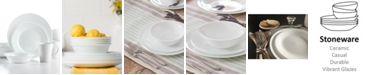 Corelle Shimmering White Round 16-Pc. Set, Service for 4