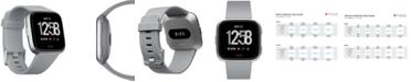 Fitbit Versa™ Gray Touchscreen Smart Watch 39mm