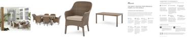 Furniture CLOSEOUT! Silver Lake Indoor/Outdoor Dining Collection, with Sunbrella® Cushions, Created for Macy's