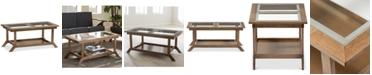 Furniture Ryszard Glass-Top Coffee Table