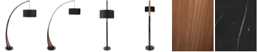 Lumisource Noah Walnut Floor Lamp