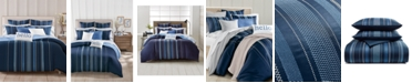 Charter Club Embroidered Lattice 300-Thread Count Bedding Collection, Created for Macy's