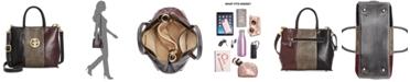 Giani Bernini Tricolor Glazed Bucket Bag, Created for Macy's