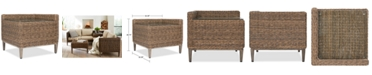 Furniture CLOSEOUT! La Palma Outdoor Corner Table With Arm, Created For Macy's