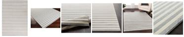 "Surya CLOSEOUT!  Horizon HRZ-1004 Medium Gray 9'3"" x 12'6"" Area Rug"