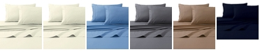 Tribeca Living 300 Thread Count Cotton Percale Extra Deep Pocket King Sheet Set
