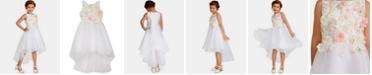 Rare Editions Toddler Girls Floral Mikado Dress