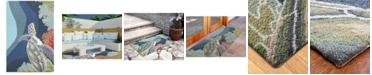 "Liora Manne' Ravella 2257 Akumal Blue 3'6"" x 5'6"" Indoor/Outdoor Area Rug"