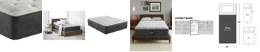 "Beautyrest BRS900-C-TSS 14.5"" Medium Firm Tight Top Mattress - Twin, Created for Macy's"
