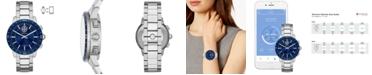 Tory Burch Women's Collins Stainless Steel Bracelet Hybrid Smart Watch 38mm