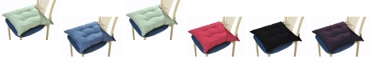 Lotus Home Water and Stain Resistant Chair Pad, 4 Pack