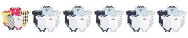 Luvable Friends Bodysuits, 5-Pack, 0-24 Months