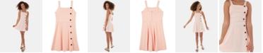 BCX Big Girls Button-Trim Dress