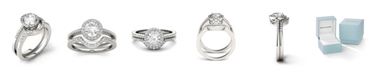 Charles & Colvard Moissanite Bridal Set (1-1/6 ct. t.w. Diamond Equivalent) in 14k white gold