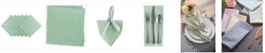 Design Import Seersucker Napkin Set of 6