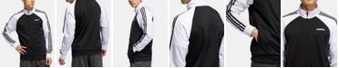 adidas Men's 3-Stripe Colorblocked Track Jacket